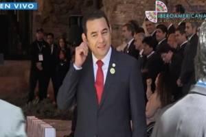 VIDEO. Gesto de ministra de Chile previo a foto oficial desconcierta a Morales
