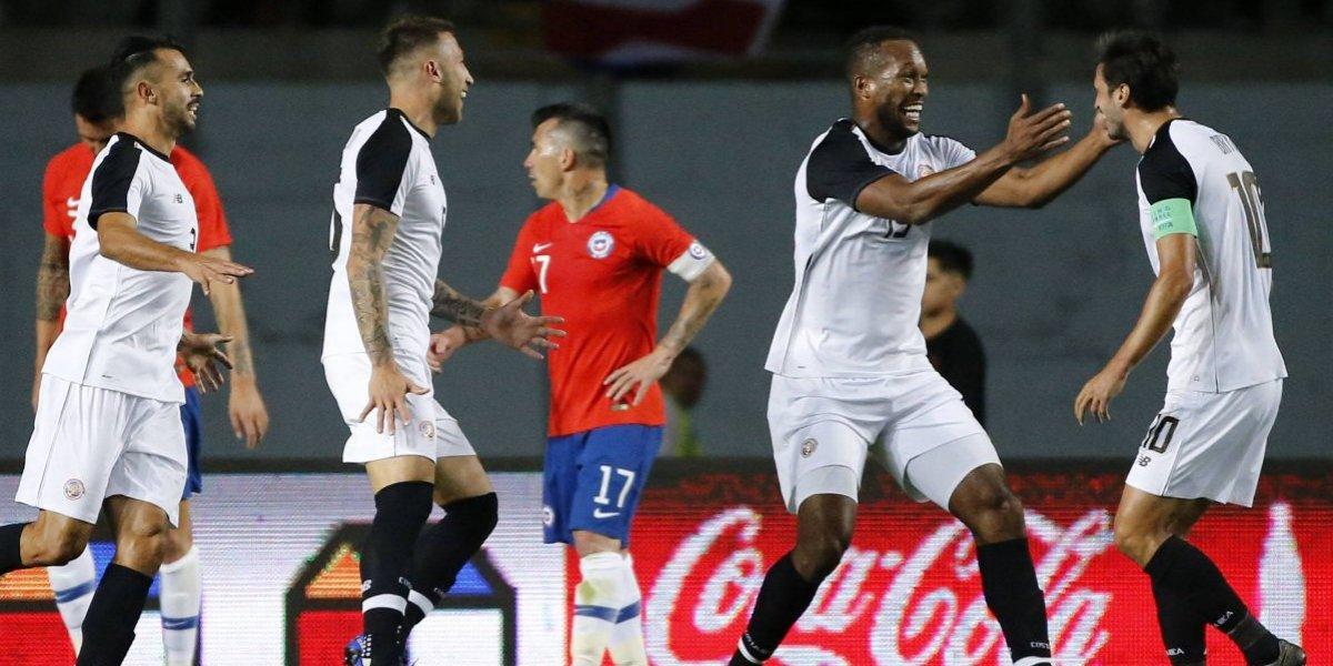 Así vivimos la dura derrota de la Roja de Rueda ante Costa Rica en Rancagua