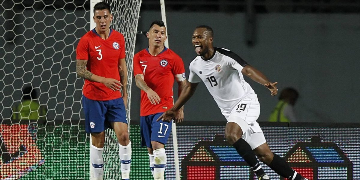 La Roja de Rueda no pudo con Costa Rica y con desesperación evitó un papelón mayor en Rancagua