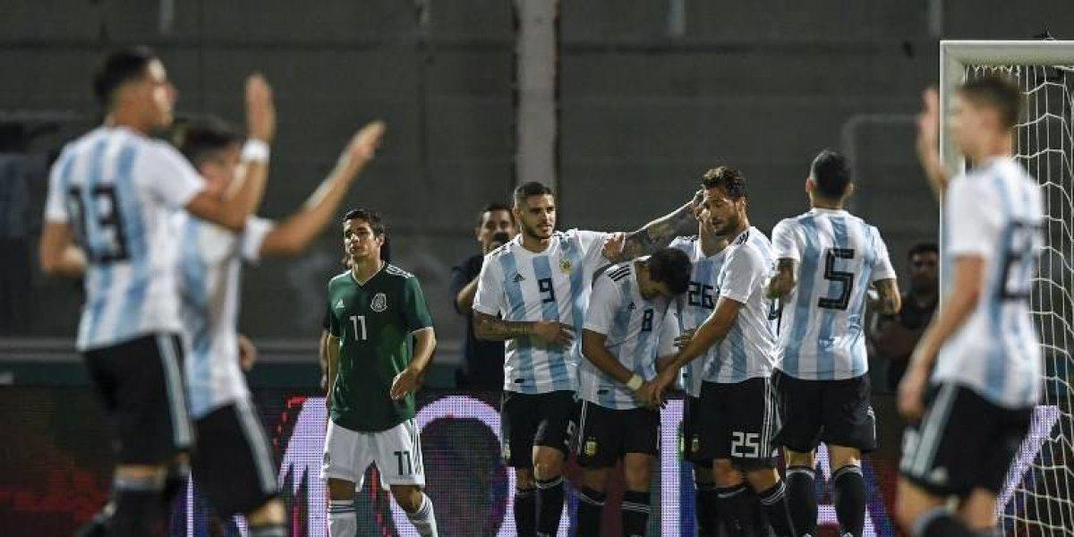 """Argentina derrota con facilidad a una """"Tricolor"""" insegura e imprecisa"""