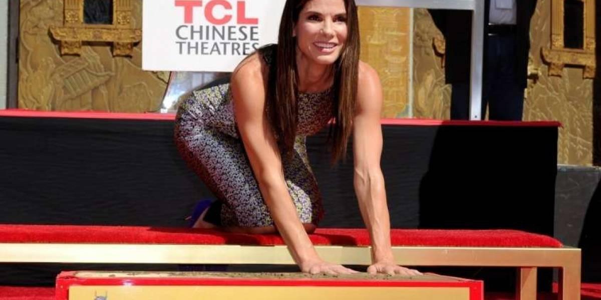 """El ejercicio de Sandra Bullock para tener brazos de """"Superwoman"""""""