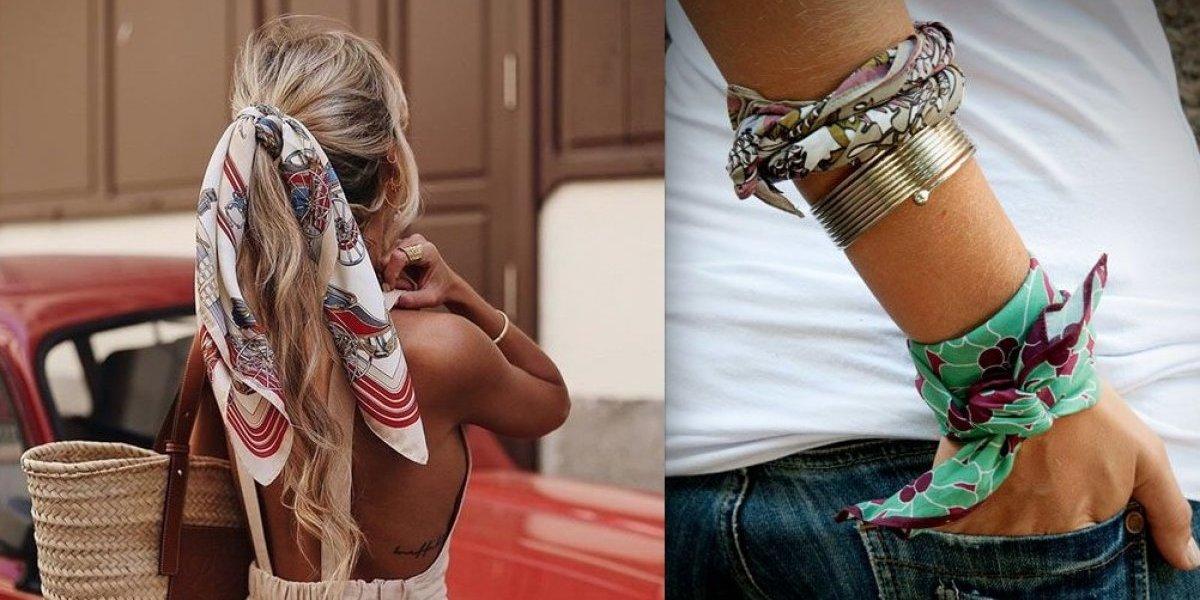 La bandana: accesorio camaleónico