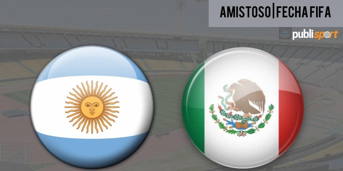 Argentina se impone ante México