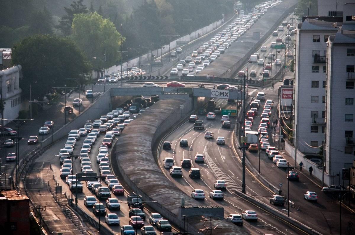 El sector transporte es el que genera más contaminación. Foto: Cuartoscuro