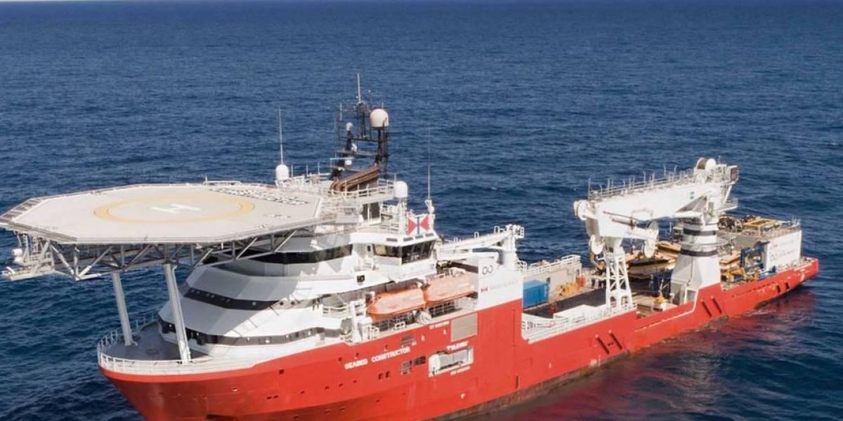 Navio e drones subaquáticos ajudaram a encontrar submarino argentino desaparecido