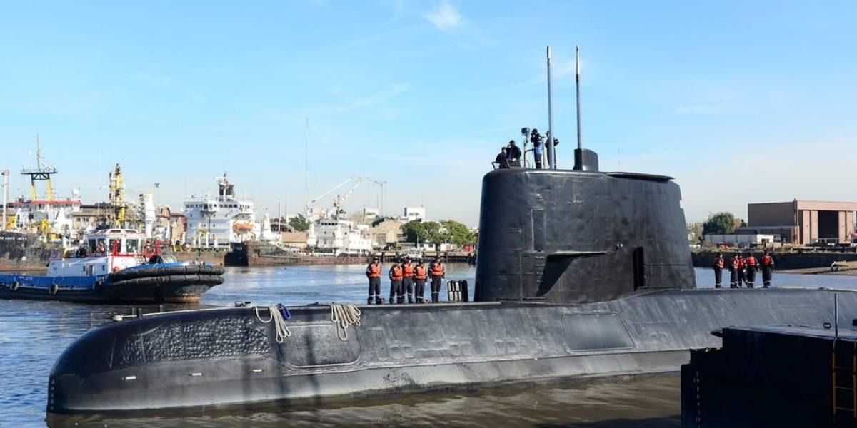 Así es el ARA San Juan, el submarino militar argentino hallado en el fondo del océano