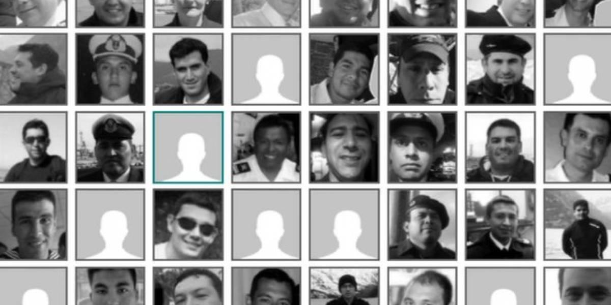 Os 44 tripulantes do submarino argentino ARA San Juan, encontrado após ter ficado um ano desaparecido