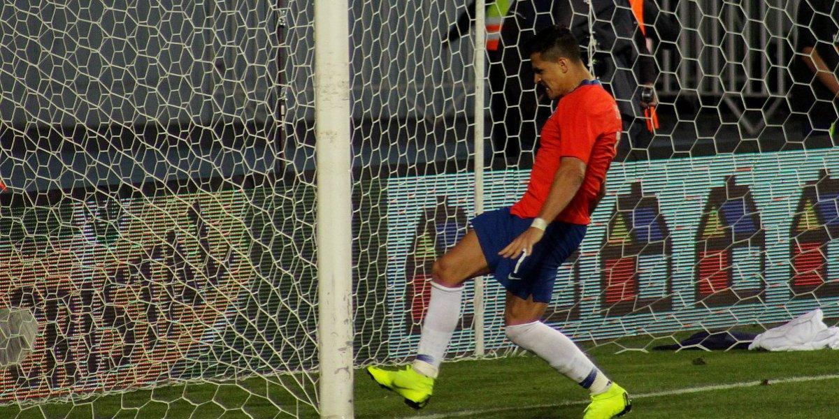 Alexis Sánchez sumó un nuevo capítulo a su tormentoso año 2018