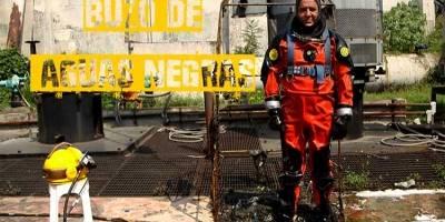 """""""La función del buzo de aguas de la CDMX es dar mantenimiento y limpieza a las plantas de bombeo, ya sea de agua potable, aguas tratadas o aguas negras de cualquier tipo de agua que es lo que maneja la CDMX"""""""