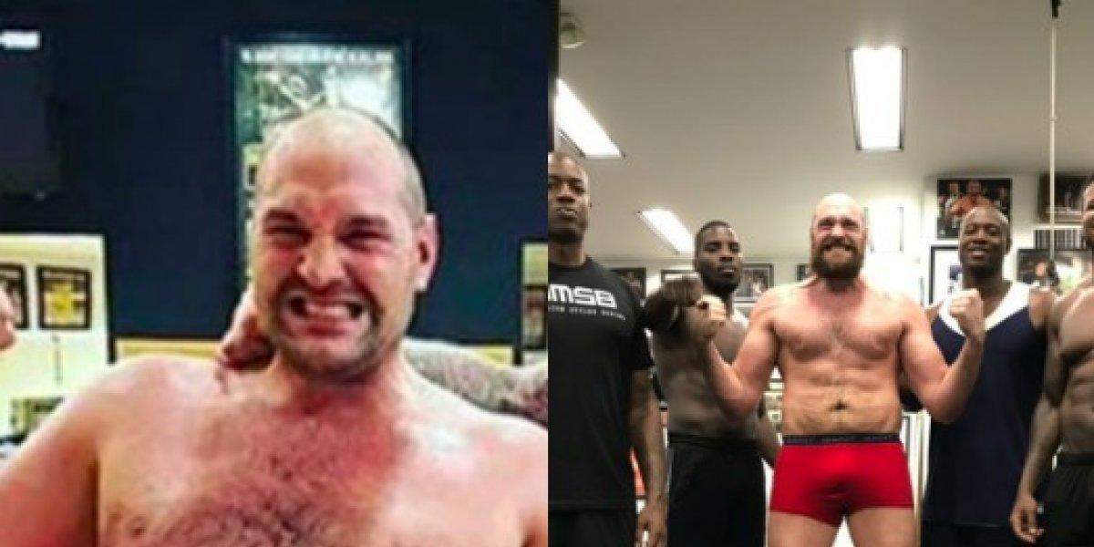 Tyson Fury superó su drogadicción para competir por el título del CMB