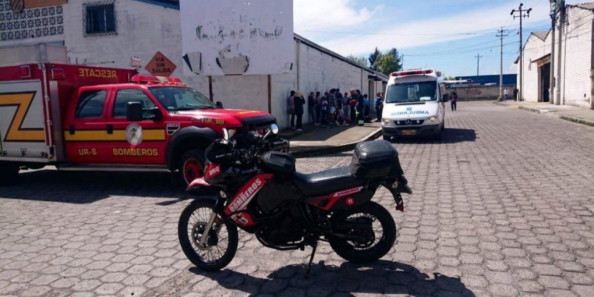 Quito: Dos personas heridas y una fallecida por accidente de tránsito