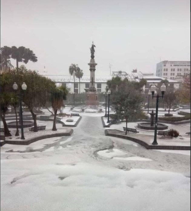 Lluvia Quito Twitter