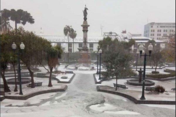Lluvia Quito