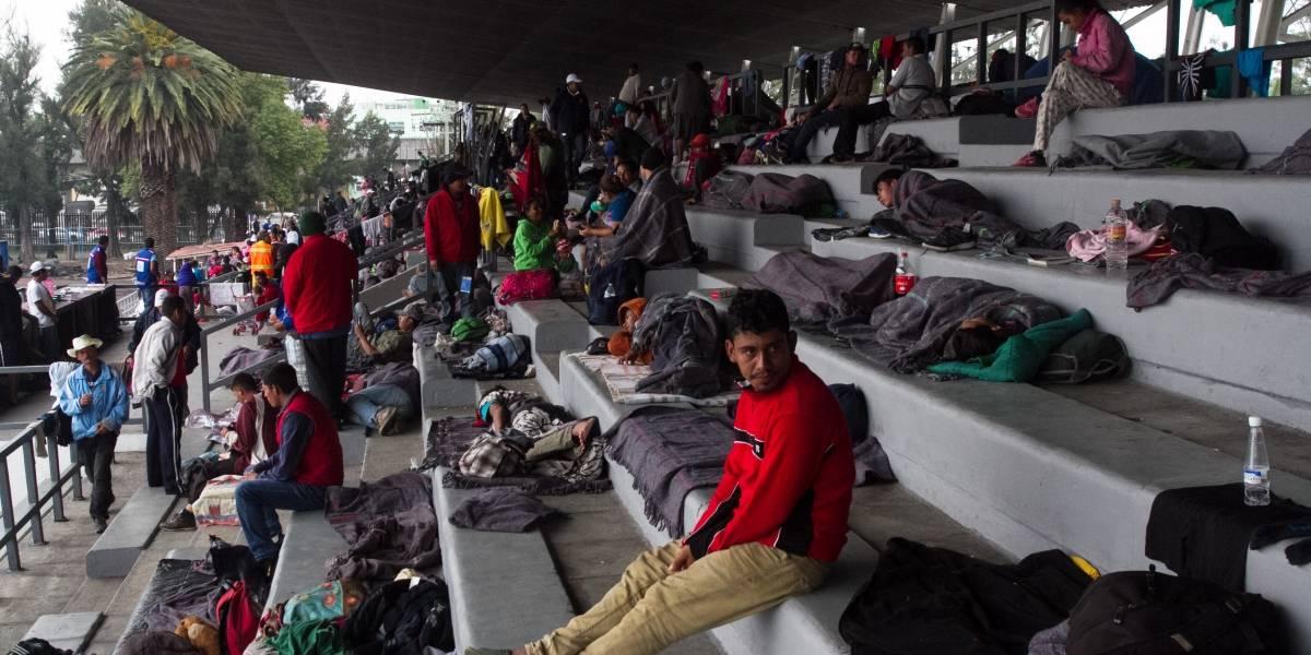 Migrantes podrían ser reubicados a Deportivo 18 de Marzo, en la GAM
