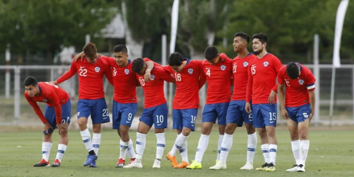 La Sub 20 de Chile se quedó en blanco ante Paraguay