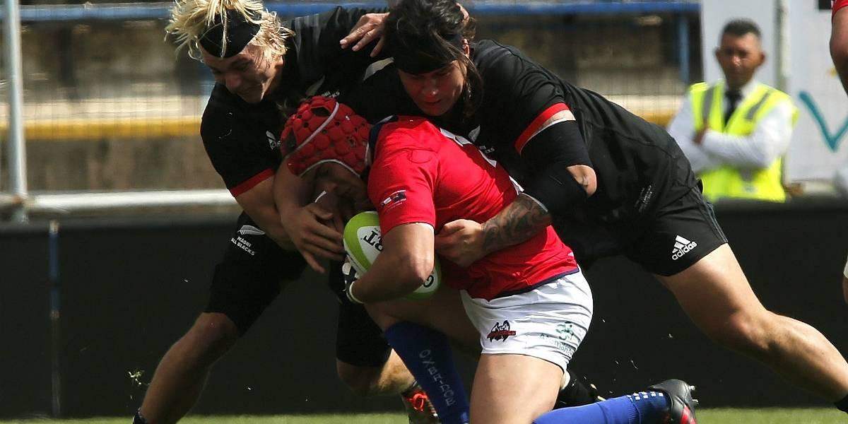 Los Maori All Blacks dictaron clase en Chile ante los Cóndores