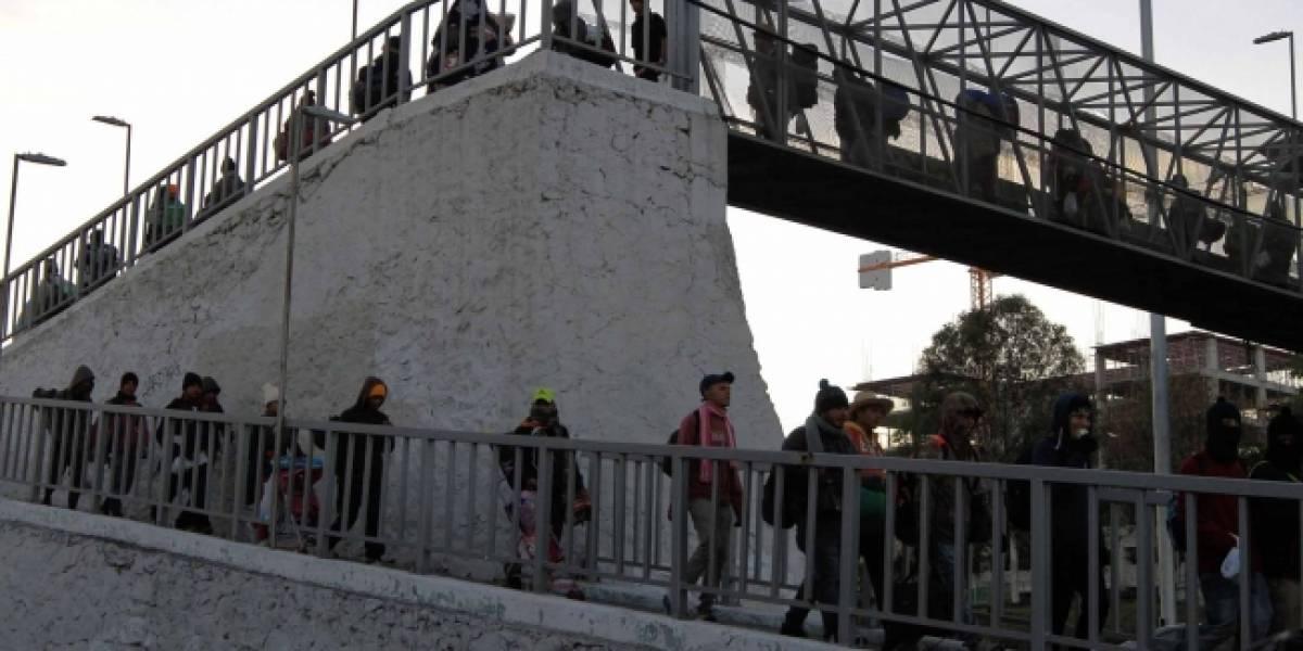 Migrantes centroamericanos continúan su camino hacia Guanajuato