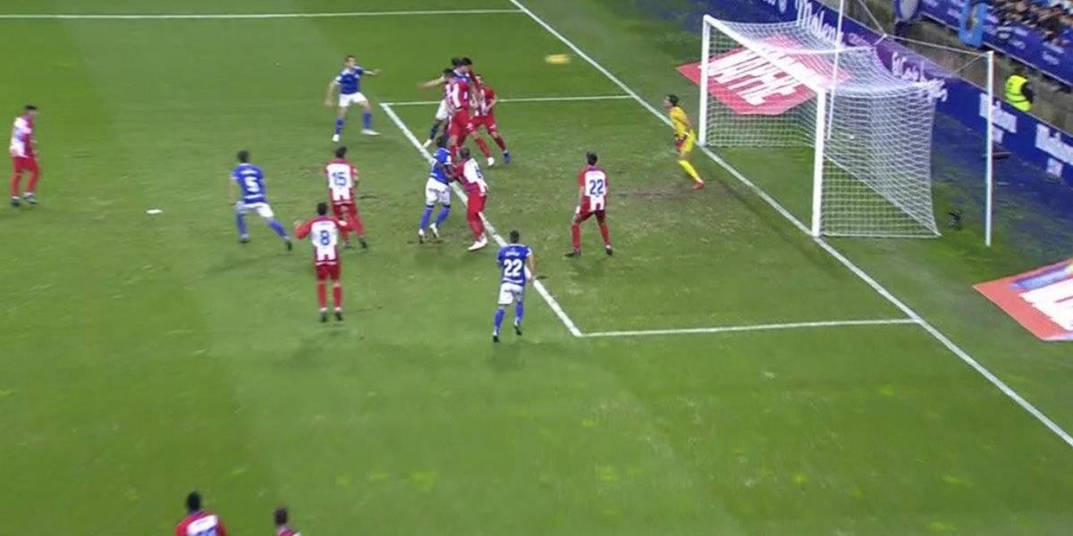 Oswaldo Alanís marca su primer gol en Europa