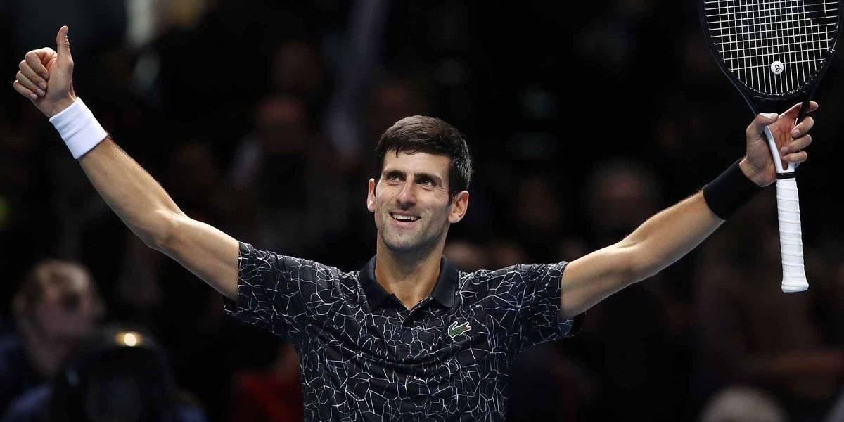 Djokovic y Zverev, finalistas de la Copa Masters 2018