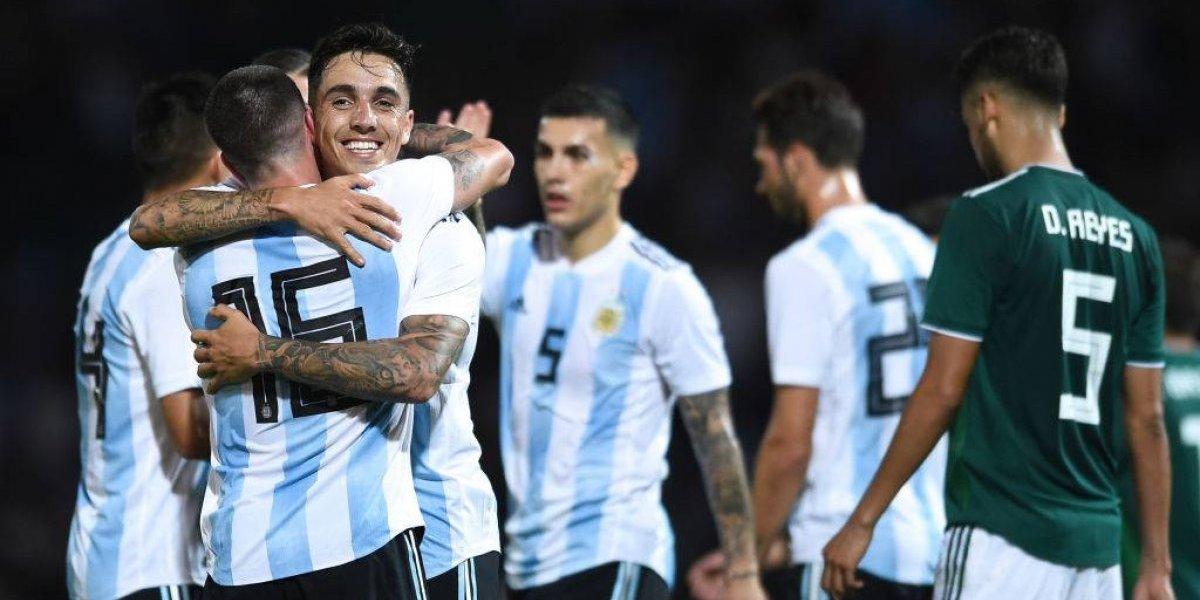 El interino Scaloni gana bonos con una renovada Argentina que venció a México