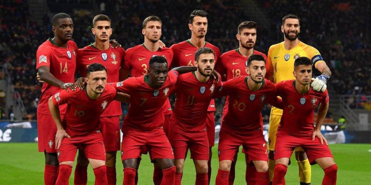 Portugal, primer clasificado a la Final Four de la Liga de Naciones