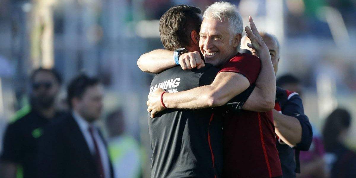 """Ivo Basay celebra la Copa Chile: """"Había que estar un poco loco para tomar a Palestino y sí, estoy loco"""