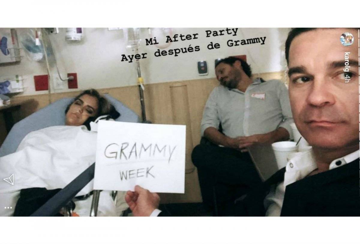 Karol G hospitalizada