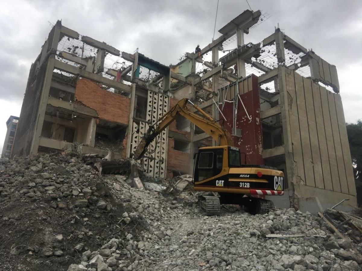Hasta el momento se han demolido 74 inmuebles Sobse