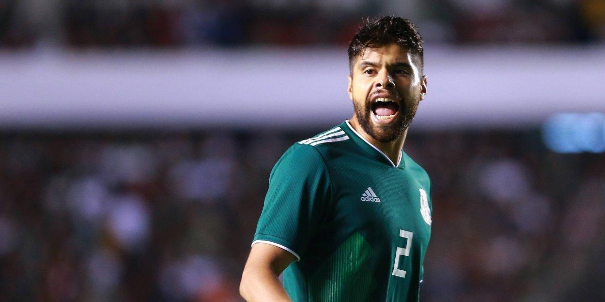 Néstor Araujo causa baja de la Selección tras sufrir una lesión en el primer duelo ante Argentina
