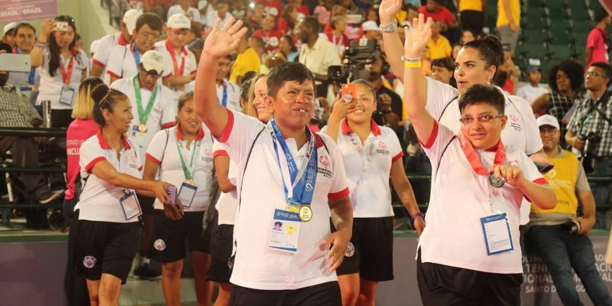 Clausuran el Invitacional Mundial de Tenis de Olimpíadas Especiales