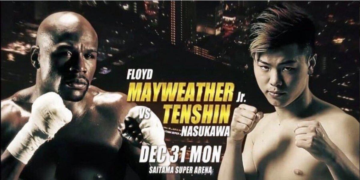 ¡La nueva pelea de Floyd Mayweather será el 31 de diciembre!