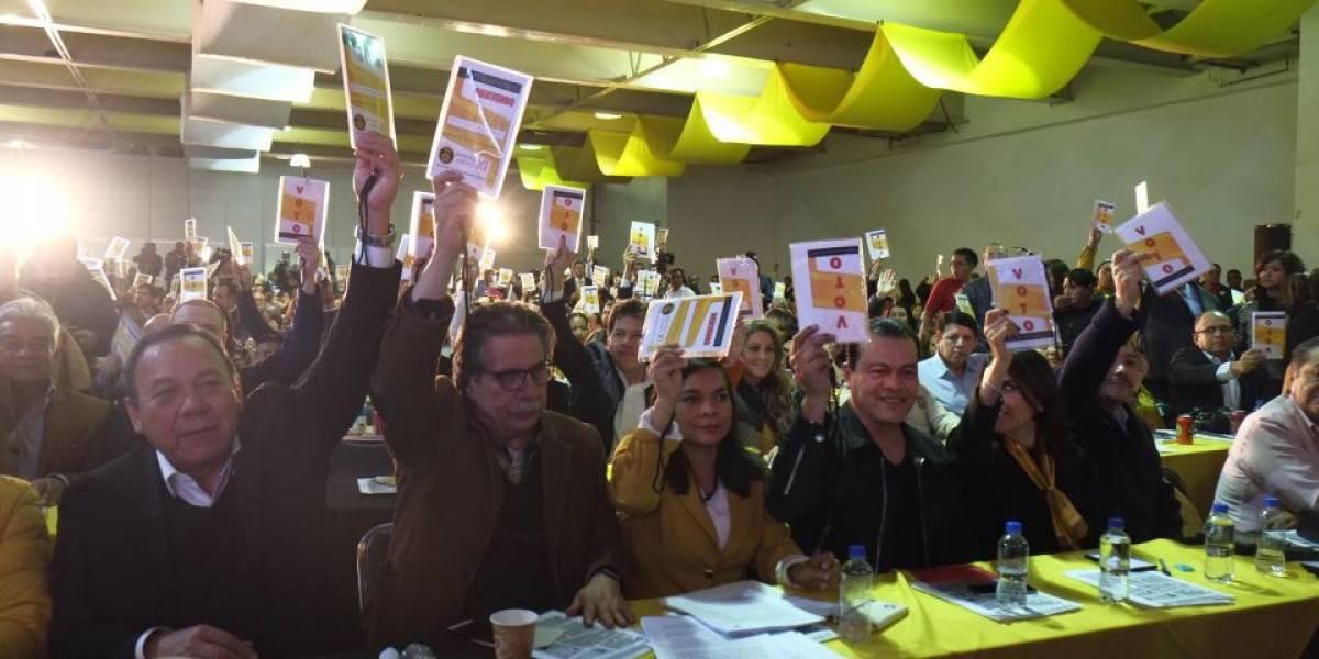 PRD celebra XV Congreso Nacional Extraordinario