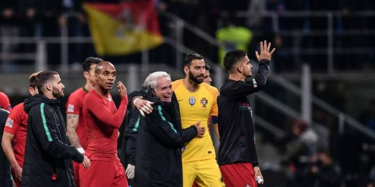 Sin Cristiano Ronaldo, Portugal es la primera clasificada a la fase final
