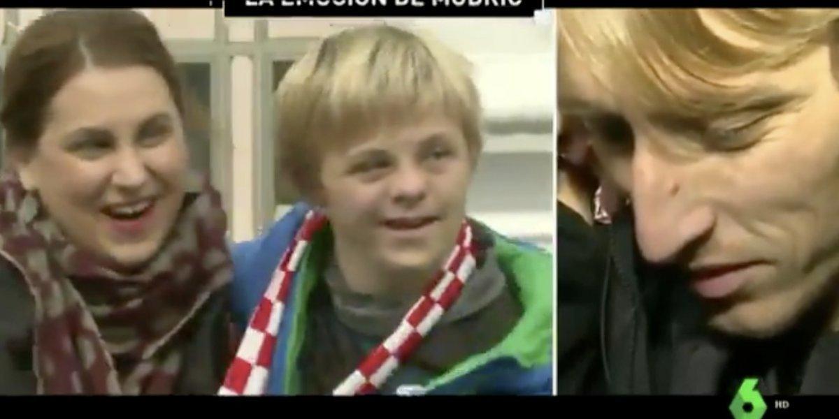 VIDEO: Mensaje de niño con síndrome de Down conmueve a Modric
