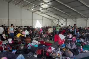 Más de 500 migrantes abandonan la CDMX