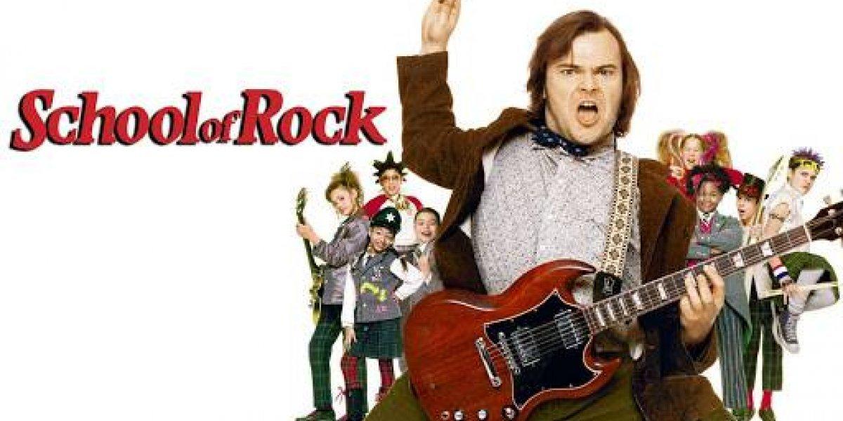 Jack Black de Escuela de Rock se volvió a reunir con uno de sus ex alumnos