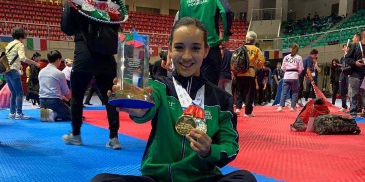 México cierra participación en Mundial de TKD Poomsae con 11 medallas