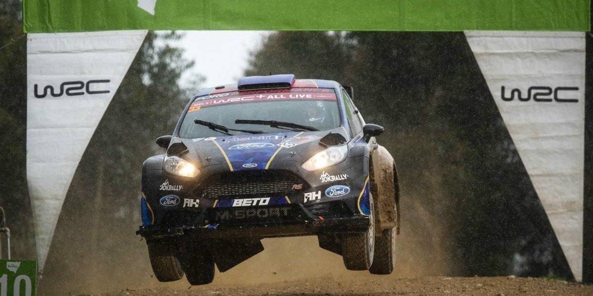 Alberto Heller hace historia y gana el WRC2 de Australia