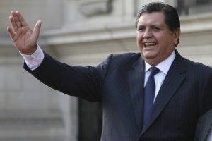 Alan García, ex presidente de Perú de