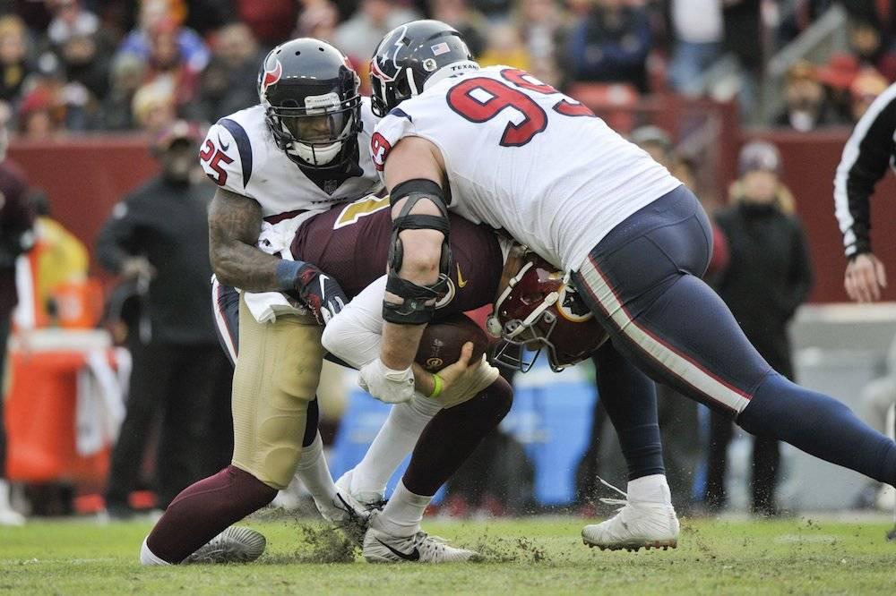 Texans vencen a Redskins y alargan racha ganadora a 7 juegos