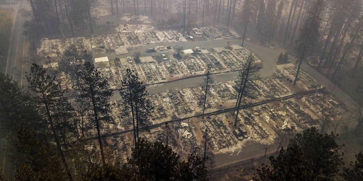 Pronostican lluvia para zona de incendios en California