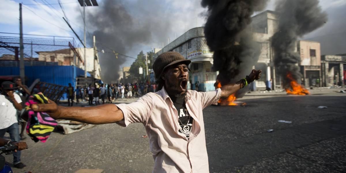 Mueren 6 en Haití durante protestas por caso de Petrocaribe