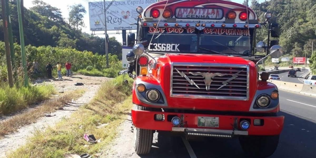 Asaltan en un bus extraurbano y asesinan al conductor
