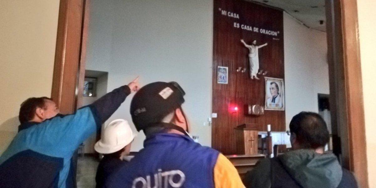 Suspensión de clases en el Colegio La Providencia por daños en la infraestructura causados por las fuertes lluvias