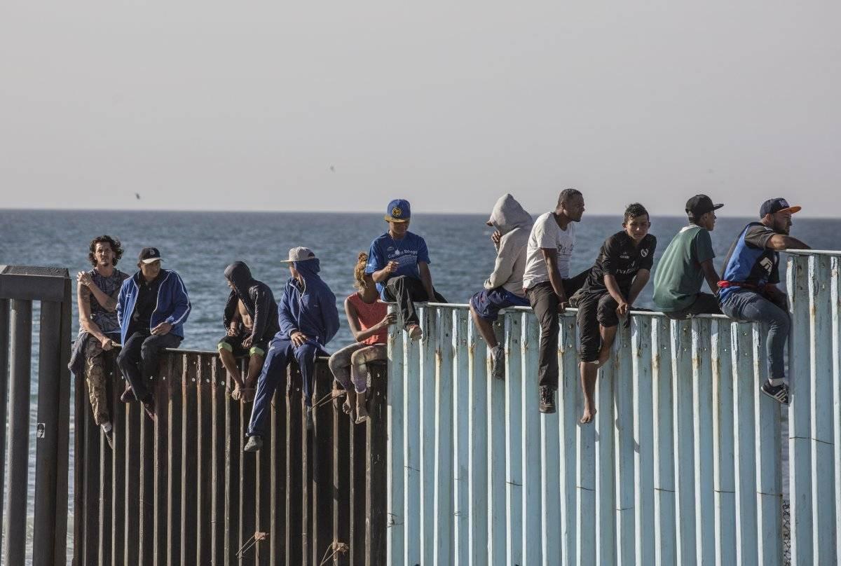 Migrantes en Tijuana Foto: Cuartoscuro