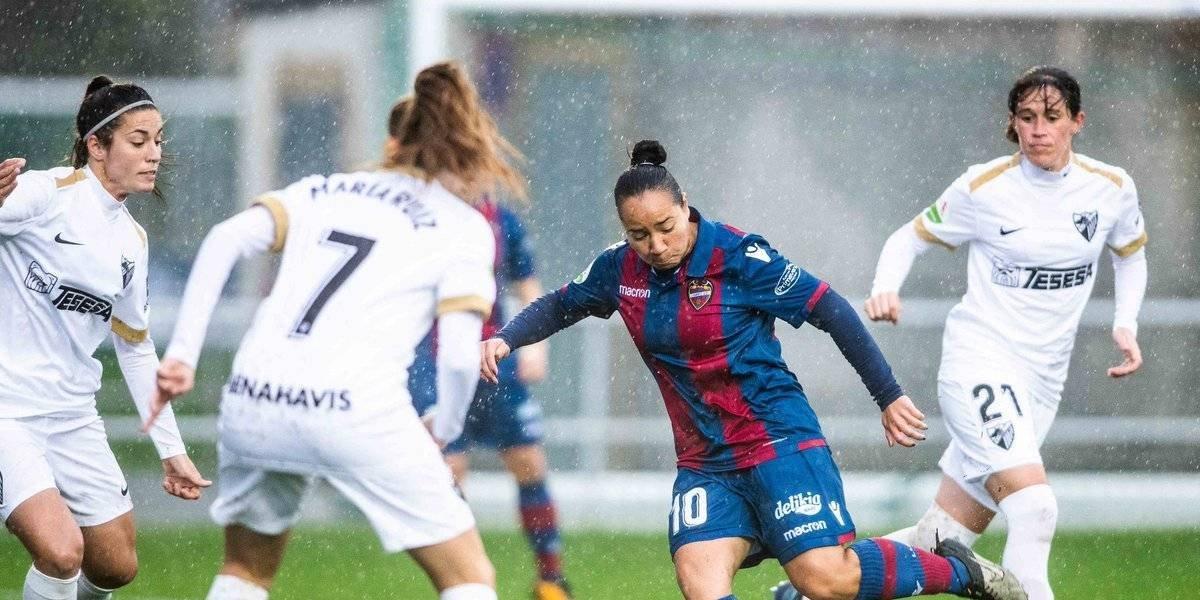 Charlyn Corral anotó un Hat-Trick en la goleada del Levante femenil