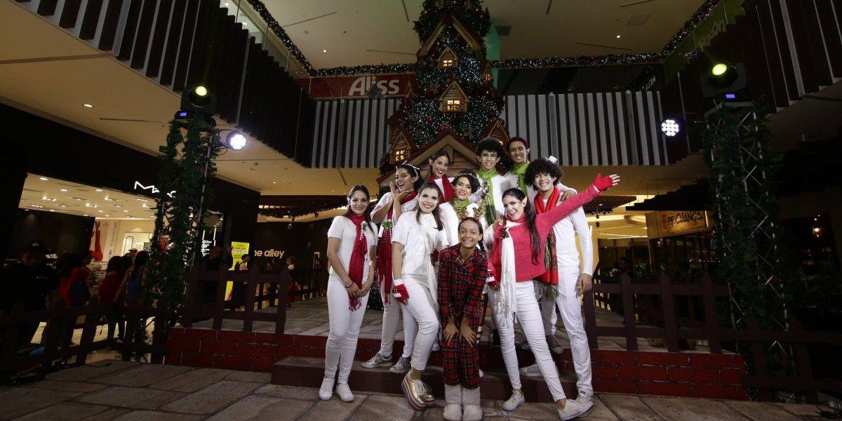 #TeVimosEn: Downtown Center le da la bienvenida a la navidad
