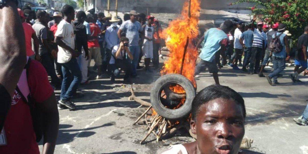 Nueva jornada de protestas en Haití contra la corrupción