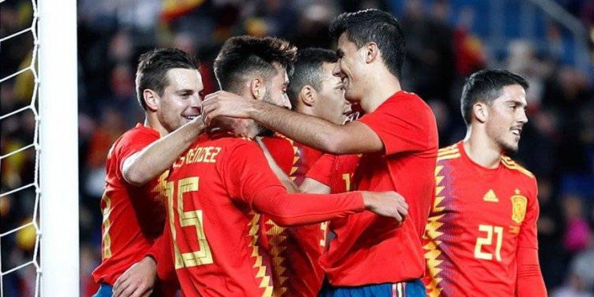 España se despide el 2018 con victoria