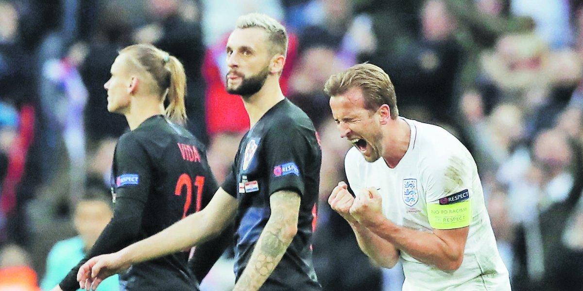 """Harry Kane.. """"Nunca vi el estadio Wembley así"""""""